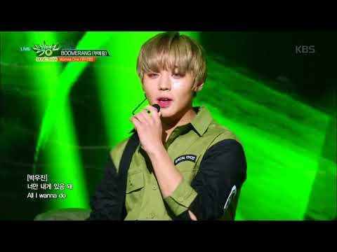 Free Download 뮤직뱅크 Music Bank - Boomerang(부메랑) - Wanna One (워너원).20180406 Mp3 dan Mp4