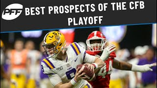 Best prospects of the CFB Playoff | PFF