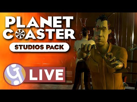 🔴 Planet Coaster Studio Pack w/ Delady, Silv & SPR | Live Stream Archive