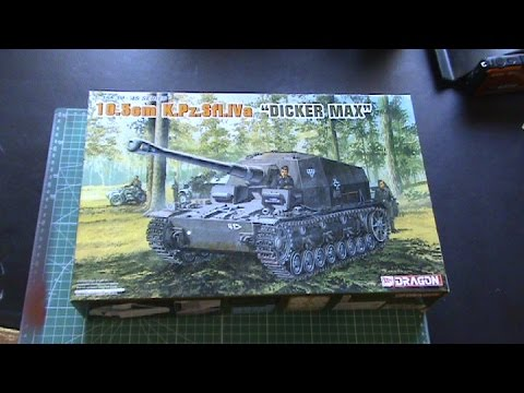 """Dragon 1/35 scale """"Dicker Max"""" - Kit Review"""