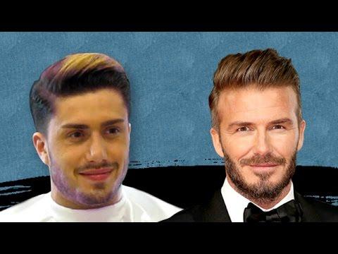 David Beckham Hairstyle | David Beckham Saç Modeli