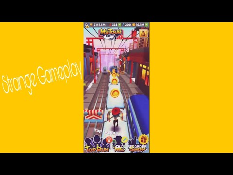 Subway Surfers Strange Gameplay