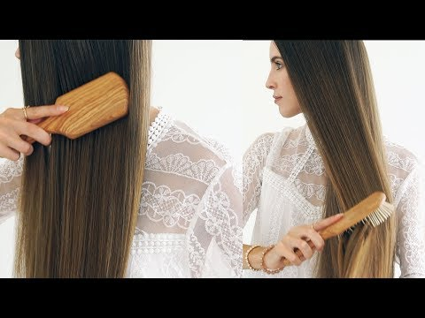 WOODEN BRUSHES FOR HEALTHY HAIR! Choosing a Brush, Uses, Benefits and Care
