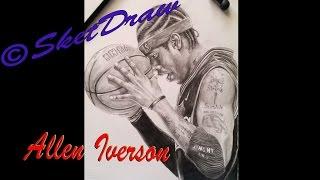 Speed drawing Allen Iverson -Portrait-