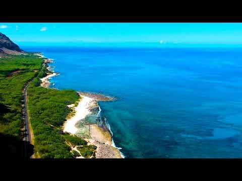 DJI Spark - Aerial footage at Ka