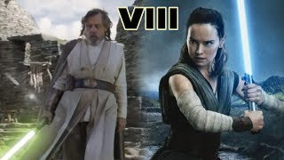 How LUKE Was SUPPOSED to Leave With Rey in TLJ - Star Wars Explained