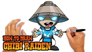 How to Draw Raiden | Mortal Kombat
