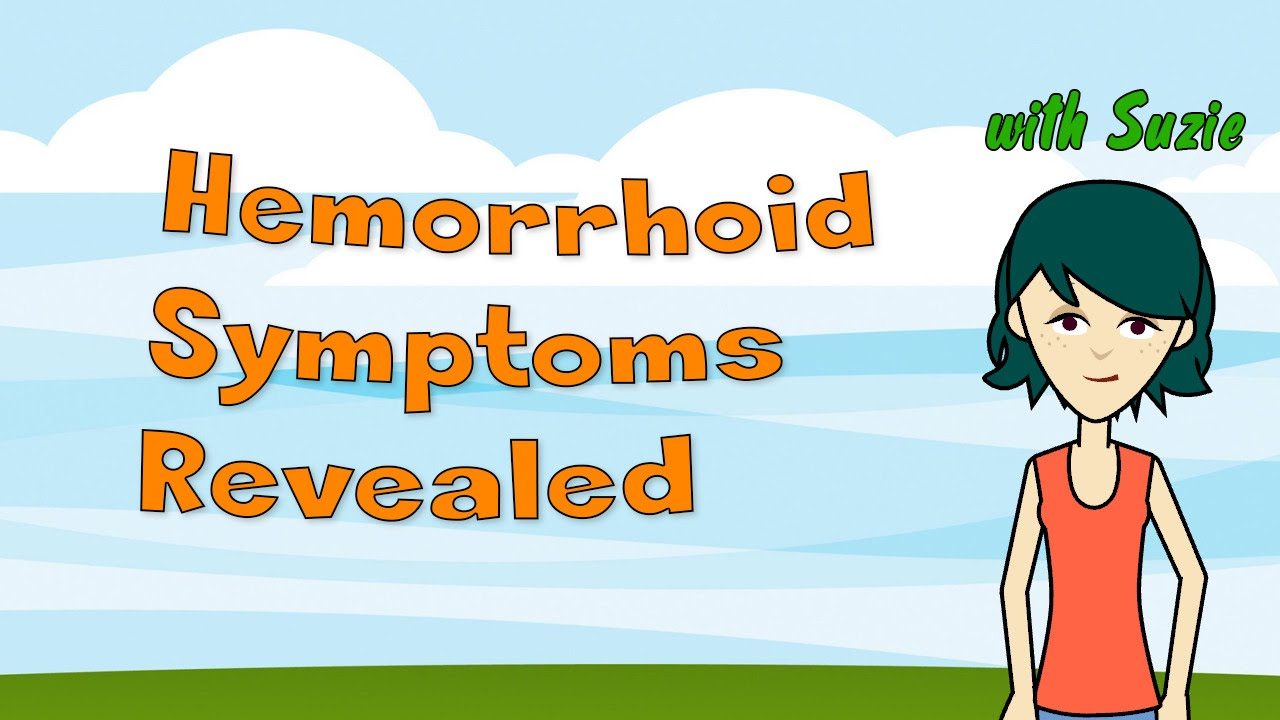 hemorrhoid symptoms revealed - youtube, Human Body