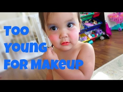 Too Young for Makeup - August 17, 2015 -  ItsJudysLife Vlogs thumbnail