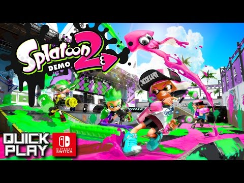 Splatoon 2 Demo Gameplay! Nintendo Switch Quick Play
