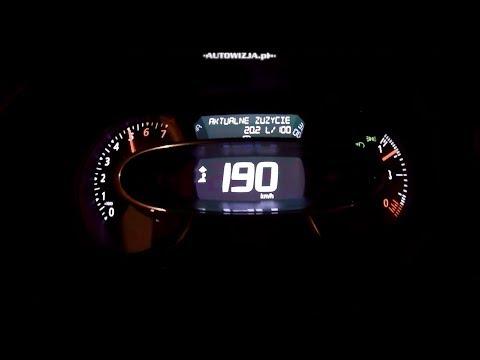 Renault Clio 1.2 TCe 120 Acceleration 0-100 Km/h, 0-190 Km/h, 0-400 M,