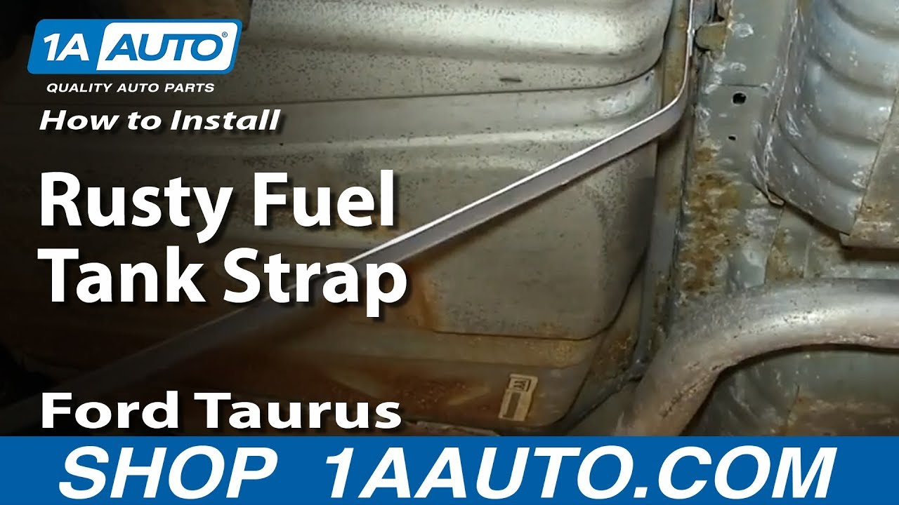 How To Install Replace Rusty Fuel Tank Straps 1996 06 Ford