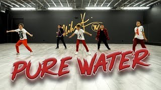Mustard, Migos - Pure Water (Dance Video) Beginner Choreography | MihranTV