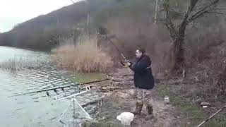 Рыбалка на карпа Открытие сезона 22 02 2020