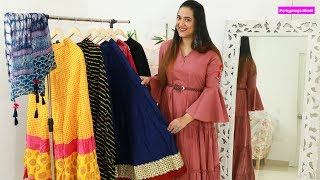Different Ethnic Skirts और उनकी Styling tips | My Ethnic Skirts Collection #InsideMyWardrobe