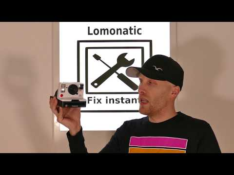 Polaroid Repair - Service Mode I-Type Camera [ENG]
