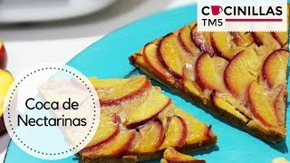 Coca de Nectarinas con Crema de Avellanas | Noche de San Juan | Recetas Thermomix