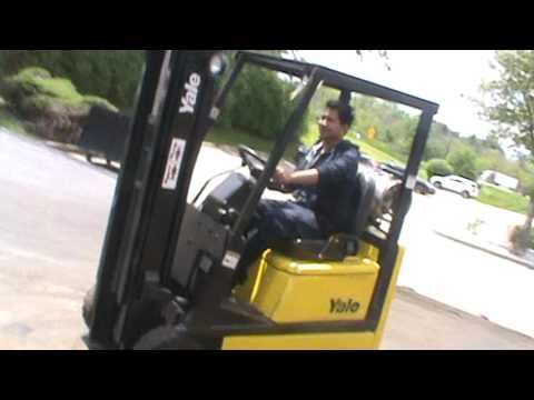 FORKLIFT FOR SALE #26606 YaleGLC030CE