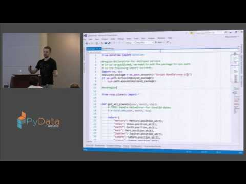 Steve Dower: Using Python in Visual Studio
