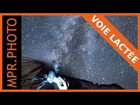 Photographier la voie lactée (et traiter la photo) | 1/4h photo sous les étoiles !