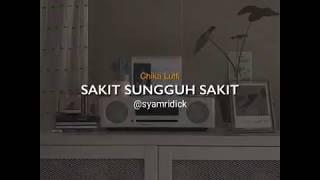 "ilir 7 - Sakit Sungguh Sakit | Cover Chika Lutfi | story terbaru ""Sound Music"" (syam ridick)"