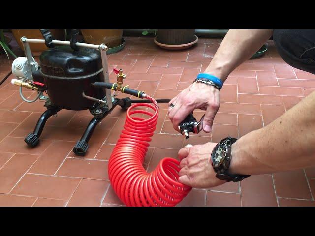 riciclo del compressore frigorifero - Subscribe and like