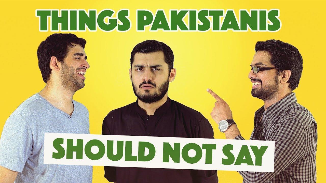 Things Pakistanis Should Not Say | MangoBaaz