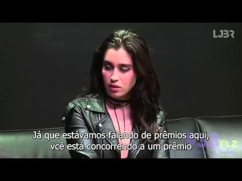 93.3 FLZ Lauren Jauregui Interview (part 1) [legendado PT-BR]