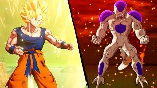 غوكو السوبر ساياجين ضد فريزا مدمر الكواكب في لعبة دراغون بول زي | Dragon Ball Z Kakarot