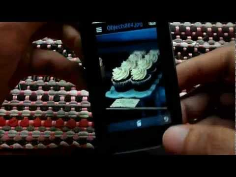 YouTube and Camera on Nokia Asha 308