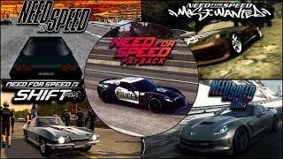 Chevrolet Corvette Evolution in NFS Games - 1080pHD