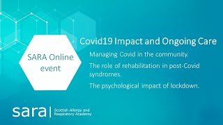 SARA - COVID19 impact and ongoing care