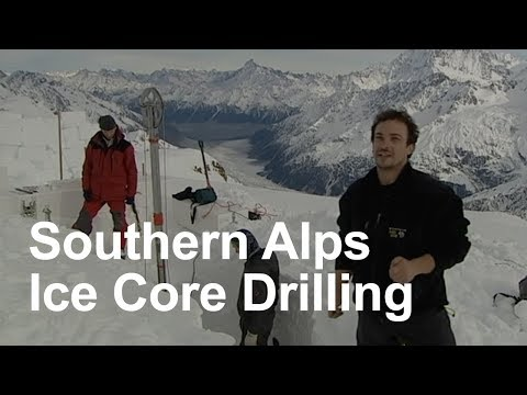 Southern Alps Ice Core Drilling 2009