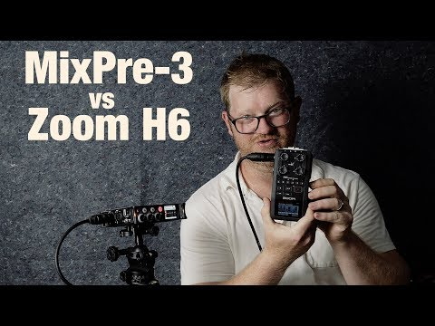 Sound Devices MixPre-3 Review & Initial Impressions vs Zoom H6