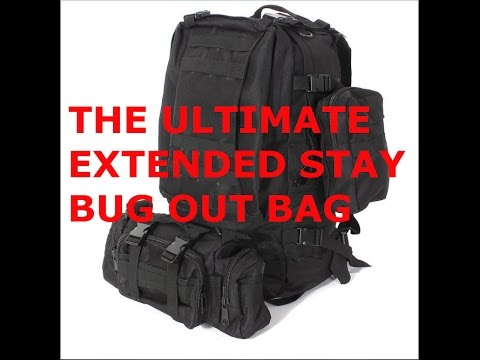 (MUST WATCH & SHARE) ULTIMATE 3 PERSON INCH BUG OUT BAG SHTF WROL ECONOMIC COLLAPSE, MARTIAL LAW