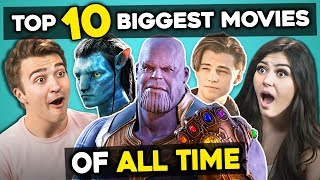 Download Adults React To Top 10 Highest Grossing Movies Of All Time Mp3 and Videos