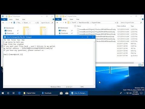 AppCheck Anti-Ransomware : Lucky Ransomware ([nmare@cock.li]{Filename}.{Ext.}.{Random}.lucky)