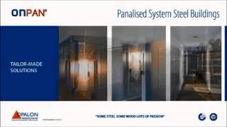 OPALON Prefabrik Modüler Panel Bina Çelik ONPAN