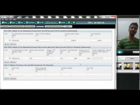 16(Filing Returns Online) (ITR 1)How to file Income tax return using Java Utility ?