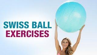 Swiss Ball Exercises - Mamtaa Joshi - Stretch workout