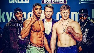 ANTHONY JOSHUA VS ALEXANDER POVETKIN OFFICIAL