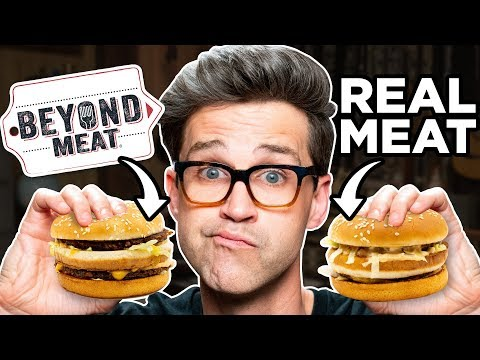 Beyond Meat Fast Food Taste Test