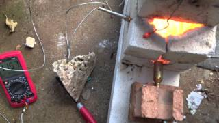 Furnace test - Glass melting