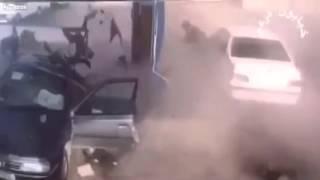 Tremenda explosion en gasolinera