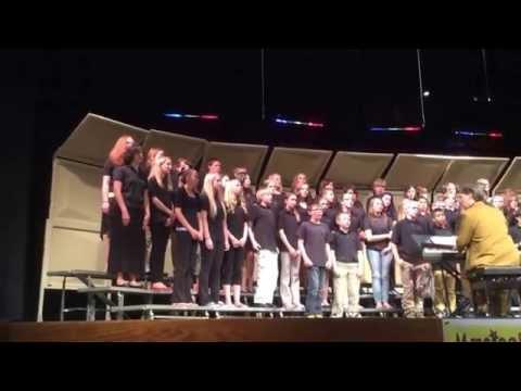 East Grand Middle School Choir Concert 2014. Mr. Brad Pregeant Music Teacher