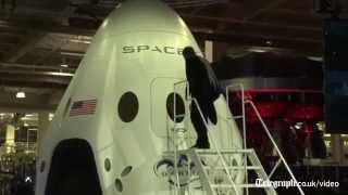 SpaceX boss Elon Musk unveils new spaceship