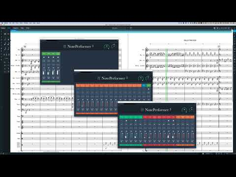 Billy The Kid Suite and NotePerformer 3 in Dorico