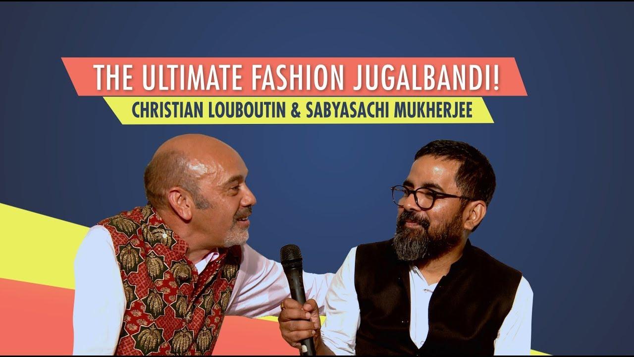f3dc7f0aec79 Christian Louboutin   Sabyasachi s Ultimate Fashion Jugalbandi ...