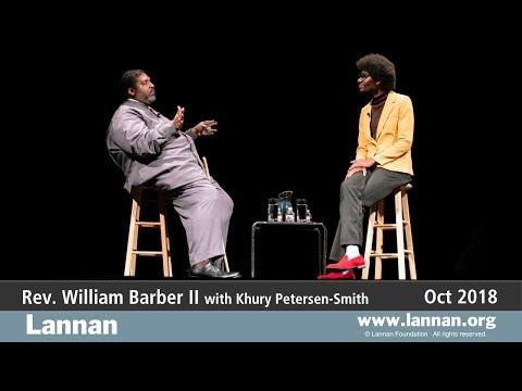 Rev. William Barber II, Conversation, 11 October 2018