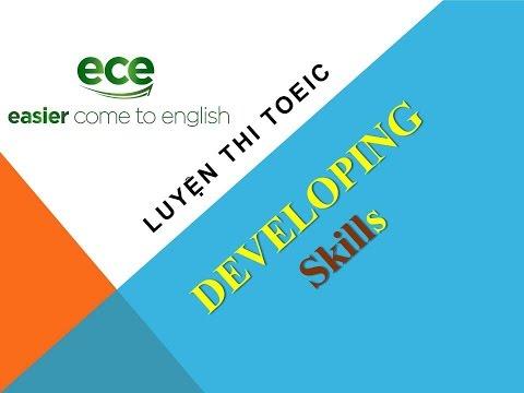 Luyện thi Toeic - Ôn thi TOEIC- Developing - unit 1